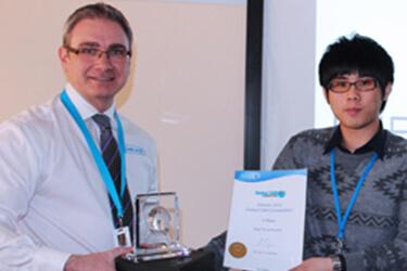 第三屆 Delcam 全球 CAM 技能大賽決賽 台灣選手獲得冠軍