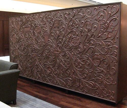 Delcam ArtCAM 用於大型壁飾雕刻