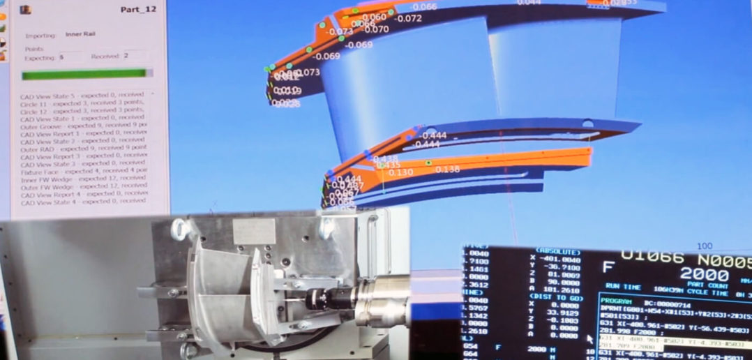 PowerINSPECT OMV 應用於 Makino NCMT