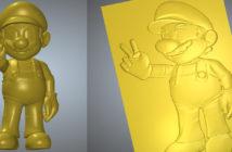 ArtCAM 3D STL 壓花