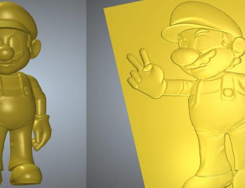 ArtCAM 3D STL 壓花浮雕製作