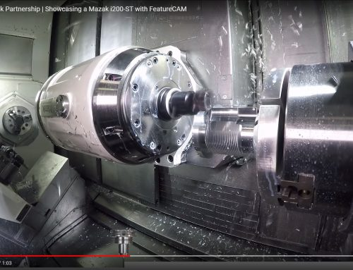 Autodesk FeatureCAM & Mazak i200-ST