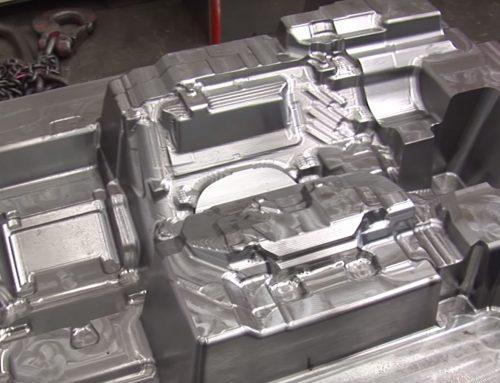 歐洲最大的模具製造商- Simoldes 製造電極和大型模具。