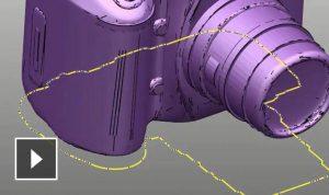 網格輪廓曲線
