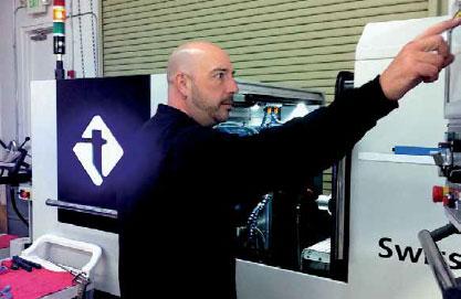 Tini Aerospace 使用 PartMaker 生產走心式車床零件