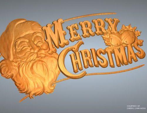 Merry Christmas – 免費浮雕下載