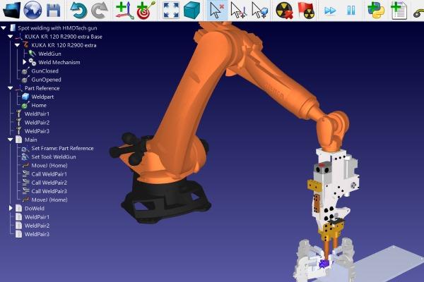 ROBODK-ROBOT-SPOT-welding