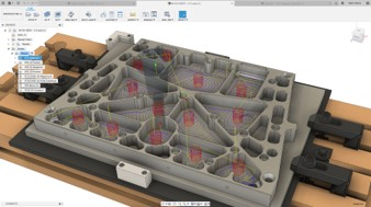 Fusion 360 2.5D 銑床加工