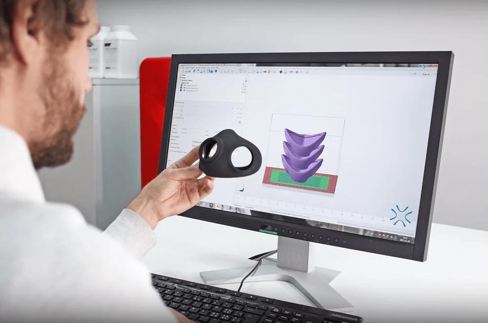 Autodesk Netfabb上的創作過程