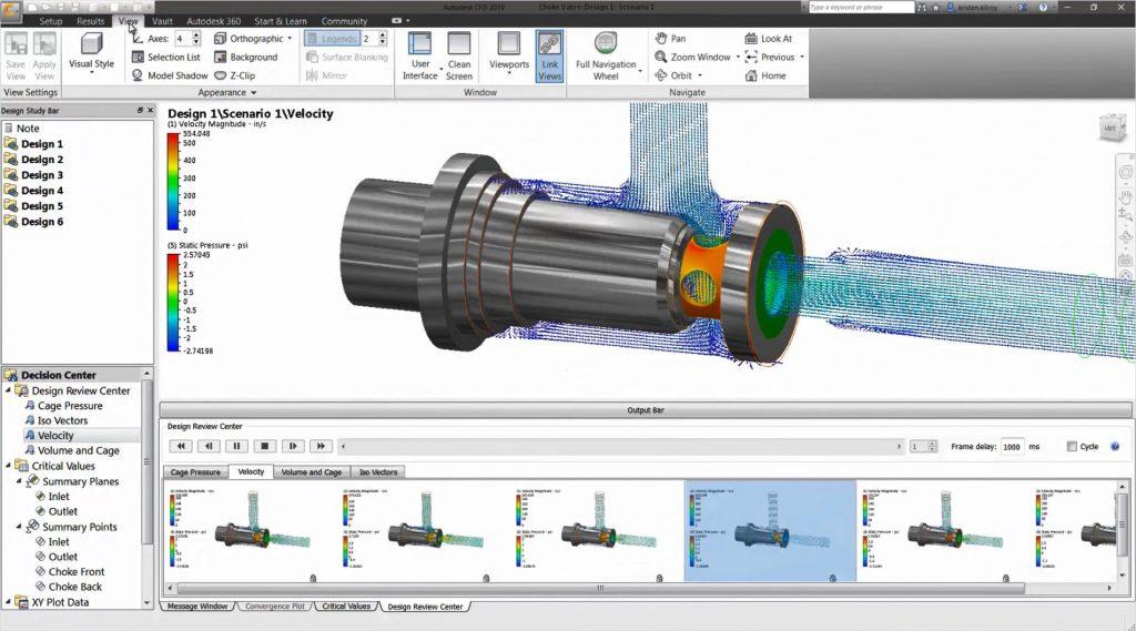Autodesk cfd 計算流體動力學模擬軟體