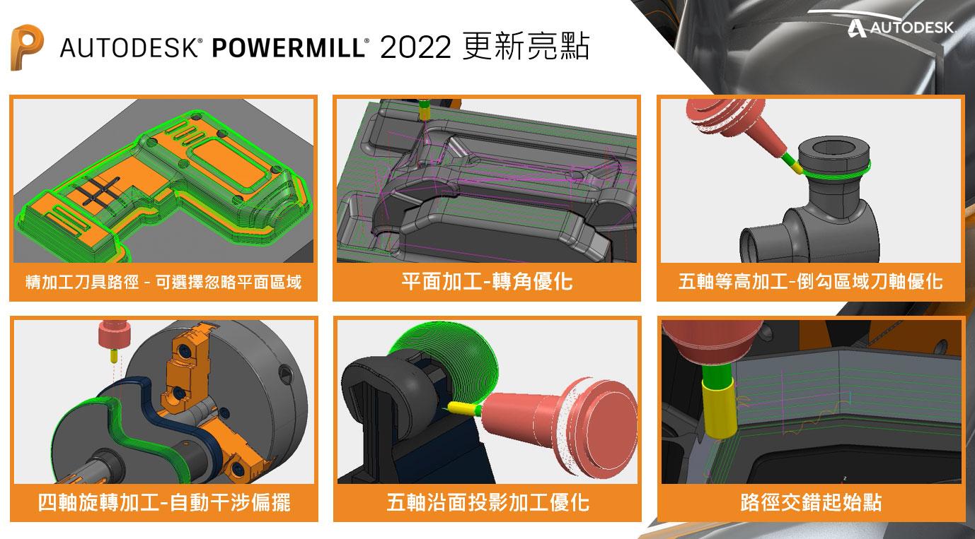 PowerMILL 2022 新版本發佈 線上研討會